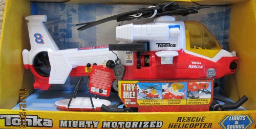 TONKA Mighty MOTORIZED RESCUE HELICOPTER 18