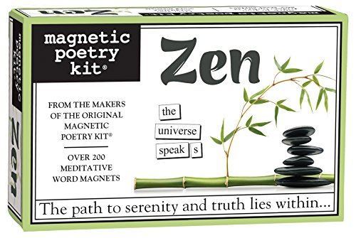 Magnetic Poetry - Zen Kit - Words for Refrigerator - Write Poems and Letters on the Fridge - Made in the - Stores Minneapolis Of Mall America