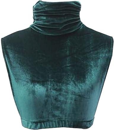 24station Camisa de faja con cuello falso de terciopelo dorado Camisa de ceñido con minifalda [E]: Amazon.es: Ropa y accesorios