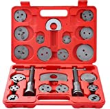 Chranto lucky 7 ! ! 22-Piece Heavy Duty Disc Brake Caliper Tool Set and Wind Back Kit for Brake Pad