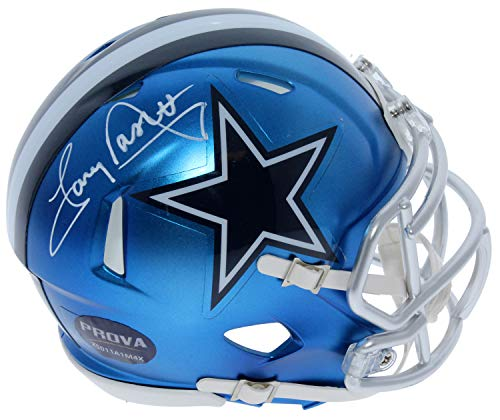 Tony Dorsett Dallas Cowboys Autographed Signed Riddell Speed Blaze Mini Helmet - PSA/DNA Authentic