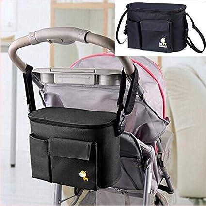 Mydio - Bolsa organizadora universal para cochecito de bebé, con ...