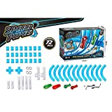 FidgetKute 27/37/72pcs Electric Remote Control Speed Pipes Track Car High Speed RC Car