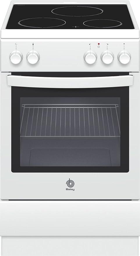 Balay 3CVB-430 - Cocina (Cocina independiente, Blanco ...