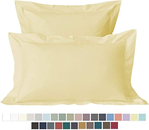 All Colors Pillowcase King Size 100/% Cotton 400 Thread Count