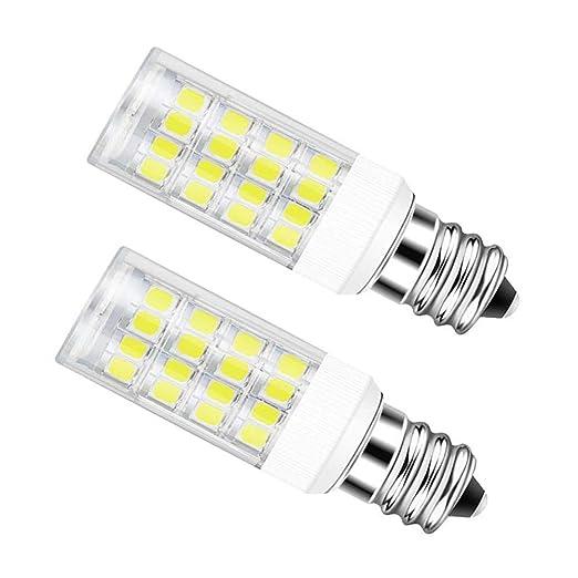 Bombilla LED de cerámica E17 para microondas de horno, 5 W (40 W ...