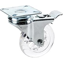 Shop Fox D4543 Non-Marring Swivel Caster with Brake, 3-Inch
