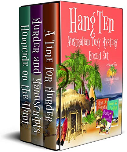 Hang Ten Australian Cozy Mystery Boxed Set: Books 4 - 6 by [Alabaster, Stacey]