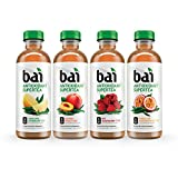 Bai Supertea Variety Pack, Antioxidant Infused Tea, 18 Fl. Oz. Bottles (Pack of 12)