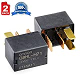 2 Pack G8HL-H71 AC and Starter Relay 39794-SDA-A03 39794-SDA-A05 for Honda Accord Civic Crosstour CR-V CR-Z Element Insight Odyssey Pilot Acura TL TSX MDX