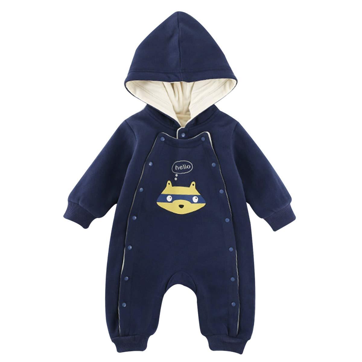 Kanodan Baby Winter Kleidung Jungen Mädchen Strampler Kinder Overall