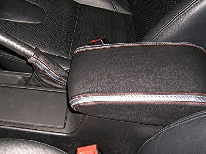 Tan Leather-Black Thread RedlineGoods ebrake Boot Compatible with Saturn ION 2003-07