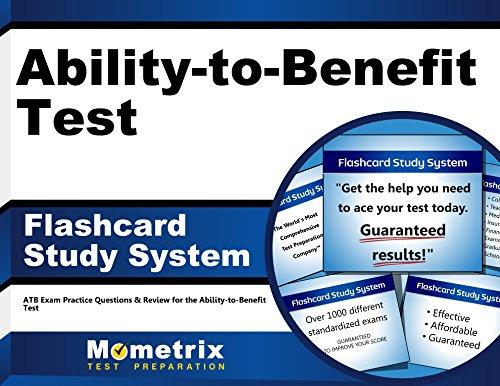 Ability-to-Benefit Test Flashcard Study System: ATB Exam