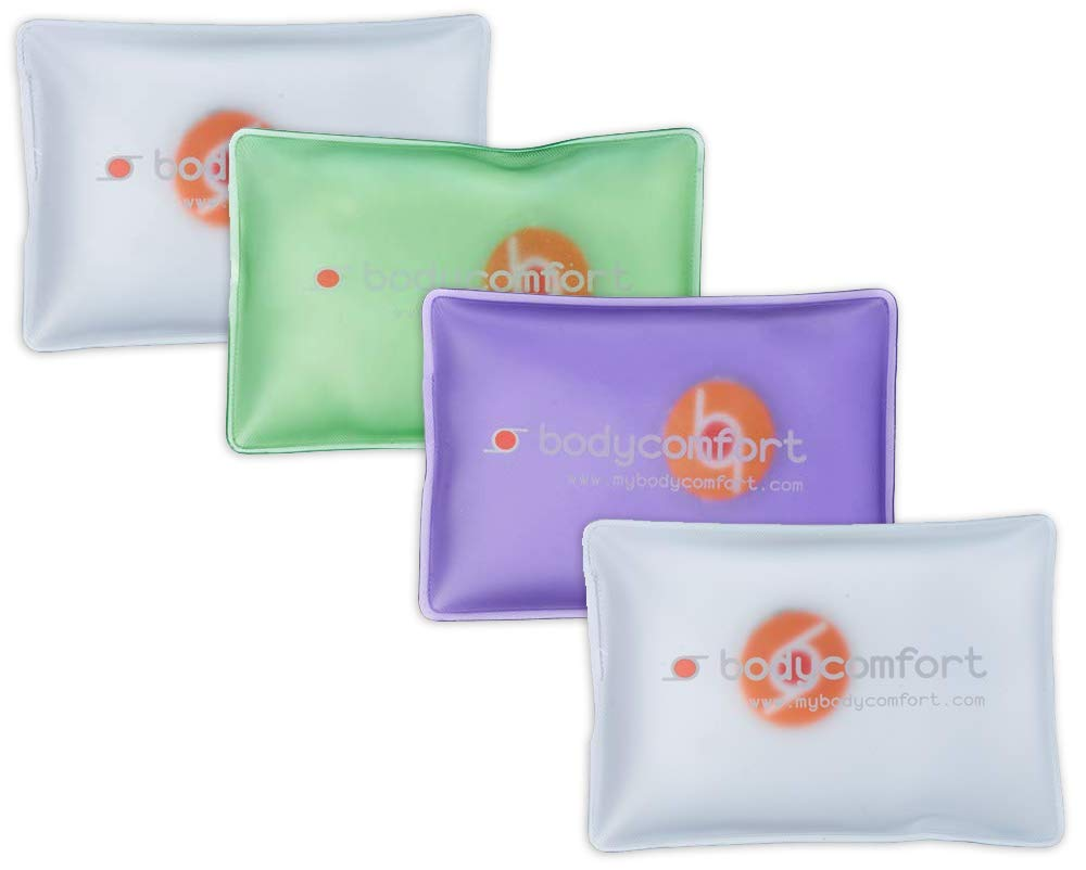 Body Comfort Click Activated Instant and Reusable Heat Packs or Cold Packs 4 pieces