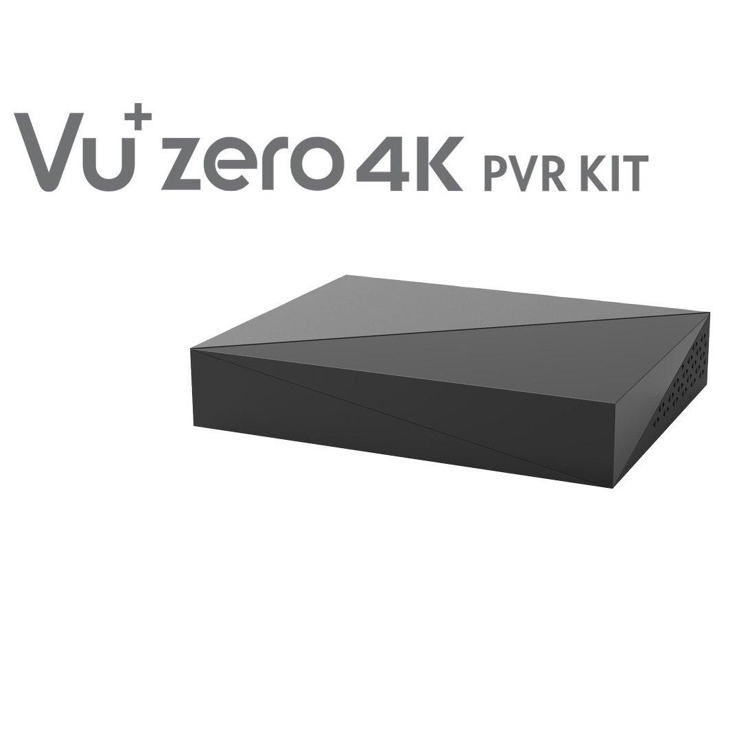 schwarz 620464 Zero 4K PVR Kit Inklusive HDD 4TB VU
