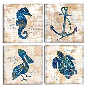 51xzOQ6vWvL._SS300_ Seahorse Wall Art & Seahorse Wall Decor