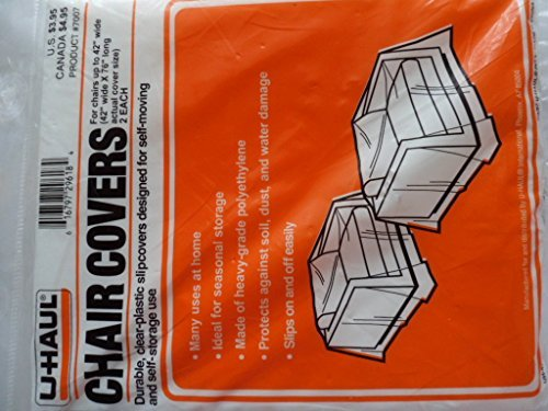 U-Haul Chair Covers pack of 2 by UHaul