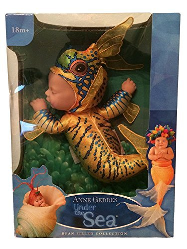 Anne Geddes Baby Tropical Fish Doll - Under the Sea Bean Filled Collection by Anne Geddes by Ovation Holdings