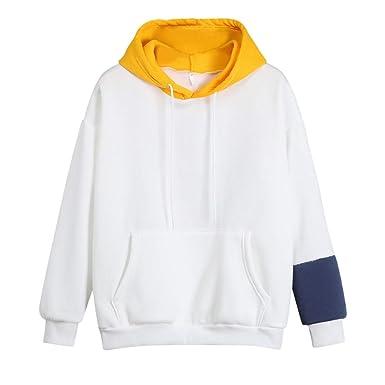 Linlink para Mujeres Sudadera con Capucha de Manga Larga Cat Impresa Camiseta suéter Blusa Estampado de Gato Pullover Top gabán: Amazon.es: Ropa y ...