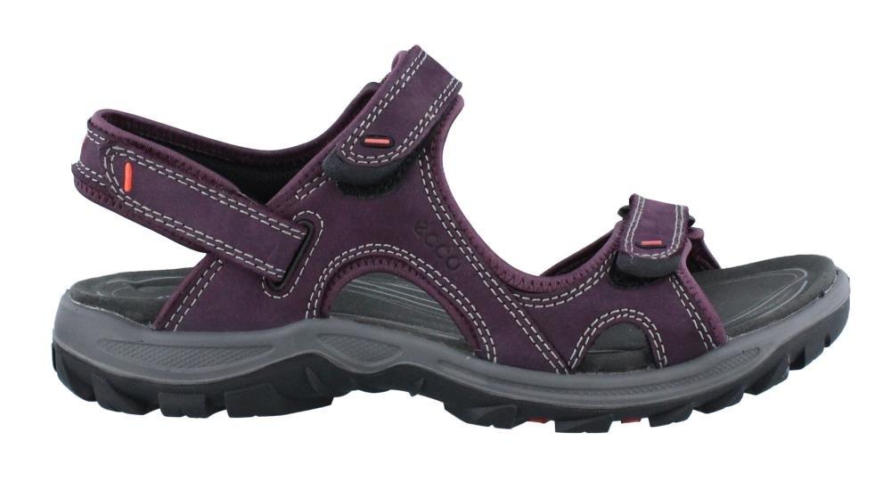 ECCO Women's Offroad Lite Athletic Sandal, Mauve/Black, 42 EU/11-11.5 M US