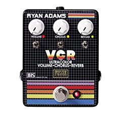 The first in a collaboration between PaxAM, Ryan Adams, and JHS Pedals, the VCR delivers Adams's identifiable clean tone with a single stomp. The onboard reverb, chorus, and boost effects are inspired by the tones of The Cure, The Smiths, and...