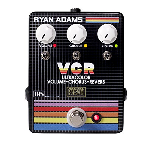 JHS Ryan Adams Signature VCR Ultracolor Volume, Chorus & Reverb Guitar Effects ()
