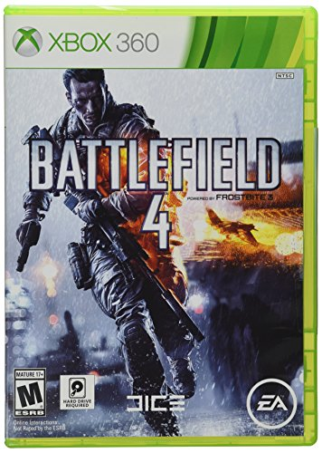 Xbox 360 Box Art (Battlefield 4 - Xbox 360)