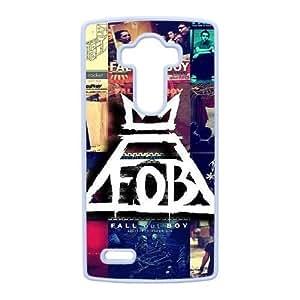 OTOÑO-OUT-BOY-LOGO por Mejor funda LG caja del teléfono celular G4 Funda cubierta blanca