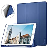 #10: Ztotop Newest iPad 9.7 Inch 2018/2017 Case with Pencil Holder - Lightweight Soft TPU Back Cover with Auto Sleep/Wake, Protective for Apple iPad 6/5th Generation(A1822/A1823/A1893/A1954),Blue