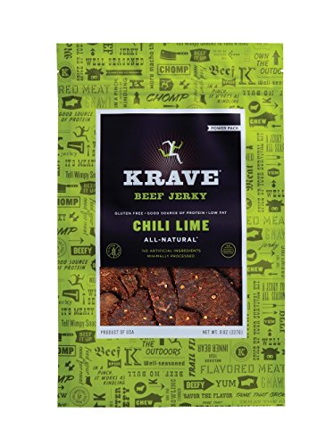 Krave Beef Jerky Chili Lime, 8 Ounce (Chili Lime Crackers compare prices)