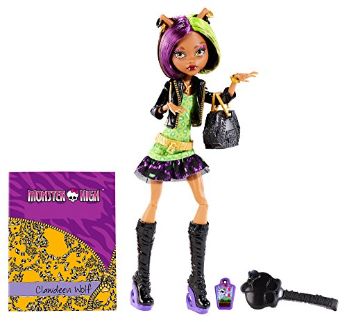 Monster High New Scaremester Clawdeen Wolf Fashion