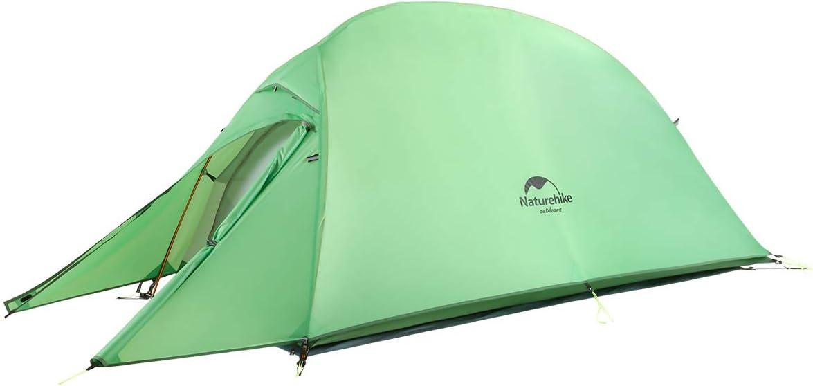 Naturehike Cloud up 1 Ultraleggero Tenda da Campeggio per 1