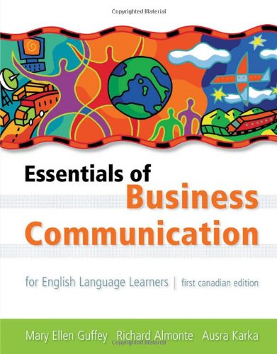 Essentials of Business Communication for English Language Learners: Includes 2009 Mla Update Card