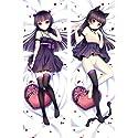 lalarose 黒猫瑠璃 カスタム 抱き枕カバー 2WAYトリコット アニメ 漫画 ゲーム 170x60cm HN079