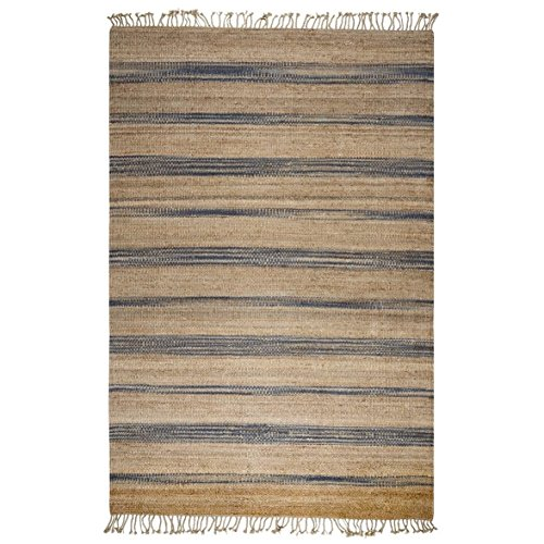 Rizzy Home WHIWR974800550912 Whittier Collection Hand-Woven Area Rug, 9' x 12', Natural