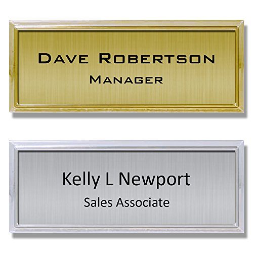 Personalized Name Badge - 9