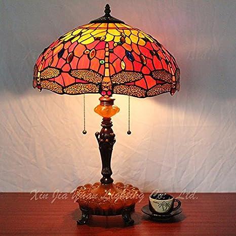 Hecha a mano Pantallas de lámpara escritorio Tiffany lámpara ...