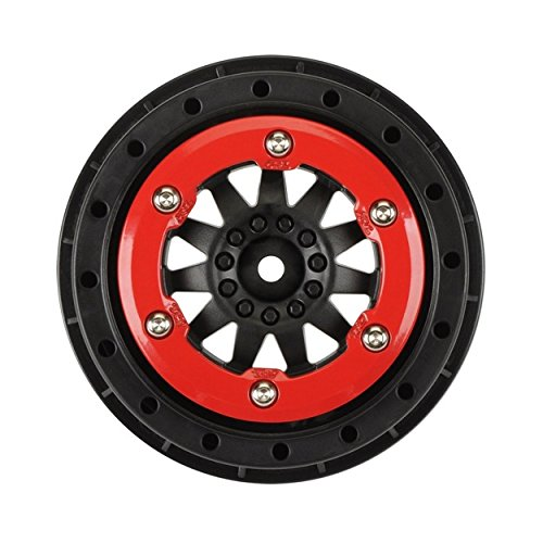 Red Beadlock Wheels - 1