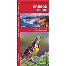Oregon Birds: A Folding Pocket Guide to Familiar Species