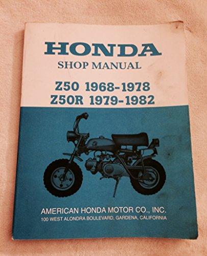 (HONDA SHOP MANUAL Z50 196801978 Z50R 1979-1982 (MOTORCYCLE))