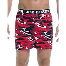 Joe Boxer Men's Valentines Camo Loose Boxer