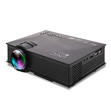 ZUEN Más Nuevo proyector LCD para Cine en casa proyector de ...