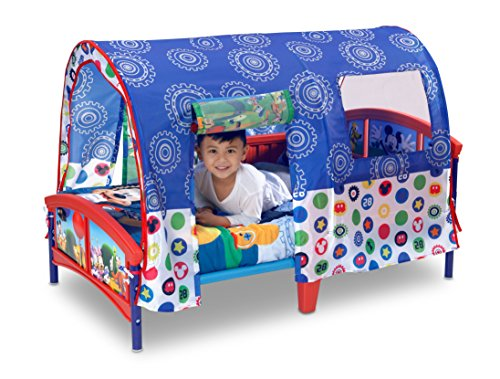 Delta Children Toddler Tent Bed, Disney Mickey Mouse 3