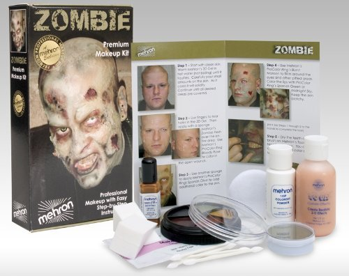 Mehron Character Make-Up Kit Premium Zombie
