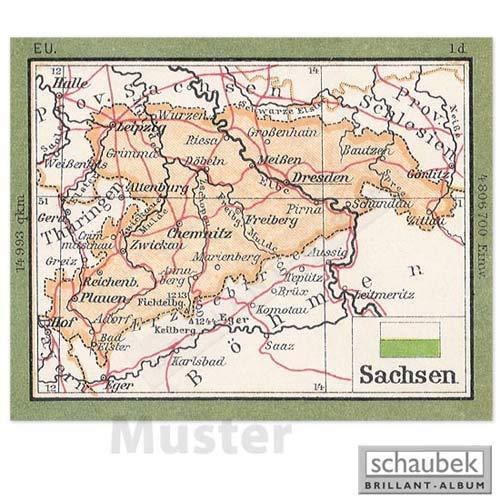 Schaubek Briefmarkengeographie Geographie-Wandkarte 75 cm AU16-K75