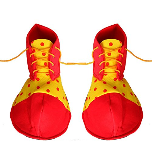 Cute Clown Shoes Kids Halloween Dress-up Costumes,Shoes