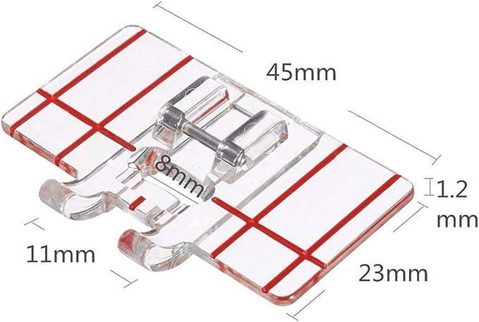 YEQIN - 2 prensatelas para máquina de coser con guía de borde – se ...