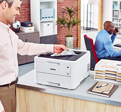 Brother HL-L3230CDW Compact Digital Color Printer Providing Laser Printer Quality Results with Wireless Printing and Duplex Printing, Amazon Dash Replenishment Enabled by Brother (Image #4)