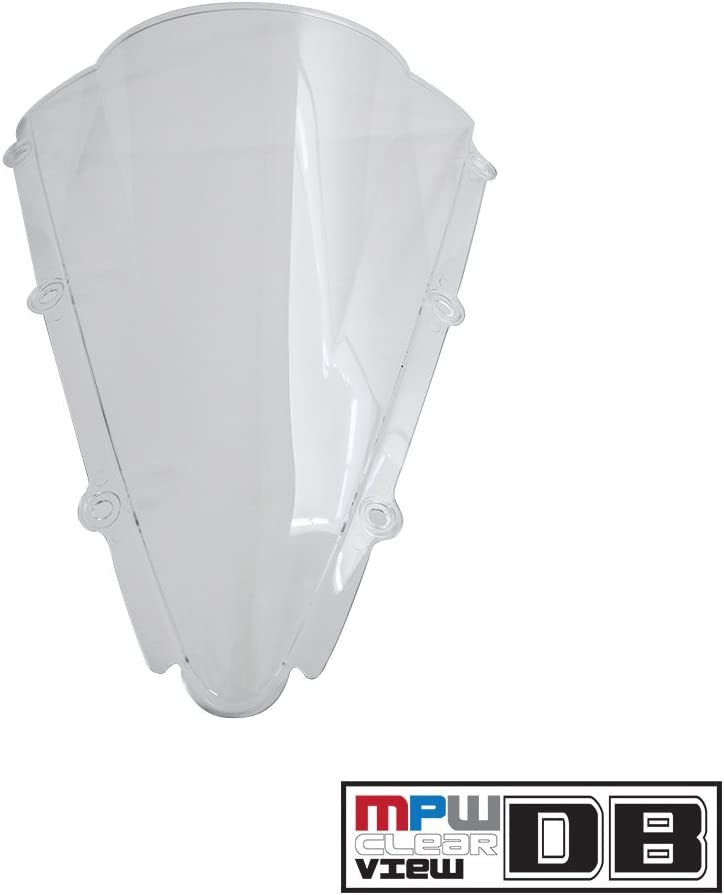 Yamaha YZF-R1 00-01 MPW Double Bubble Screen Clear