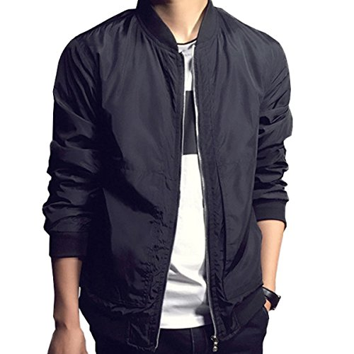 Fashion Classic Collarless Motorcycle Outwear product image